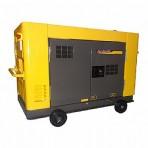Gerador a Diesel Monofásico – 19KVA, Partida Elétrica, Silenciado 110/220V- NDE19STA  NAGANO